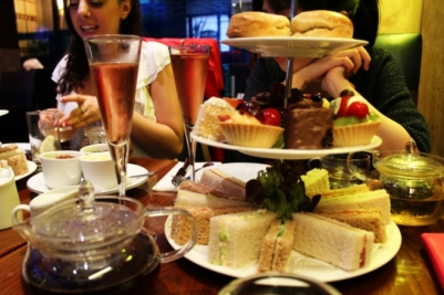 So British: A Champagne High Tea