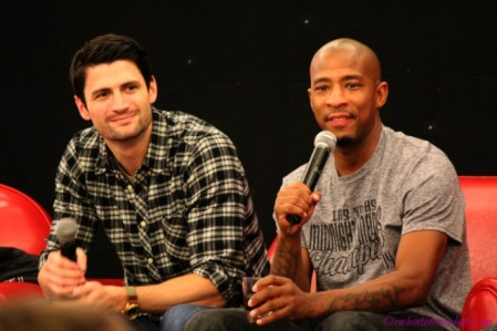 From Wilmington To Paris 2: James Lafferty & Antwon Tanner panel