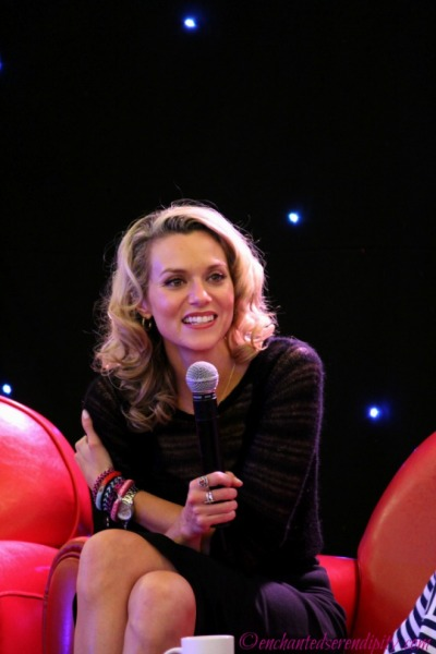 From Wilmington To Paris 2: Hilarie Burton panel
