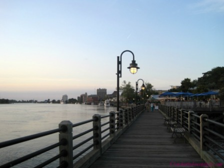 Filming Location: Cape Fear Riverwalk