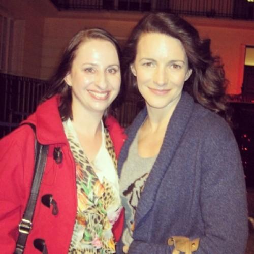 April: Met Kristin Davis