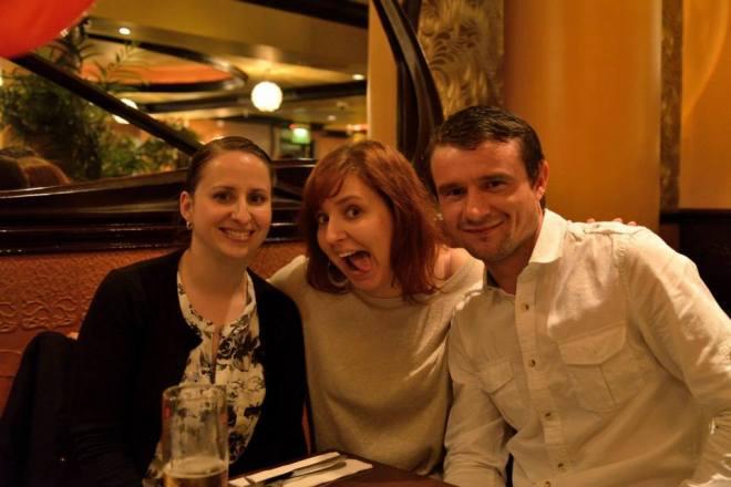 My Birthday Dinner With Housemates Daina & Marius