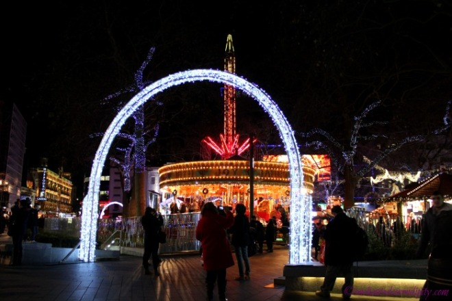 London at Christmas: Leicester Square
