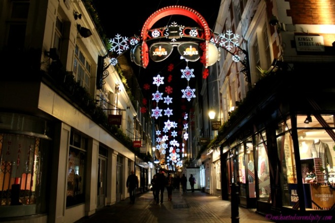 London at Christmas: Carnaby Street