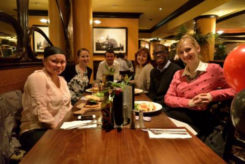 March 2013: My 29th Birthday In London With New Friends
