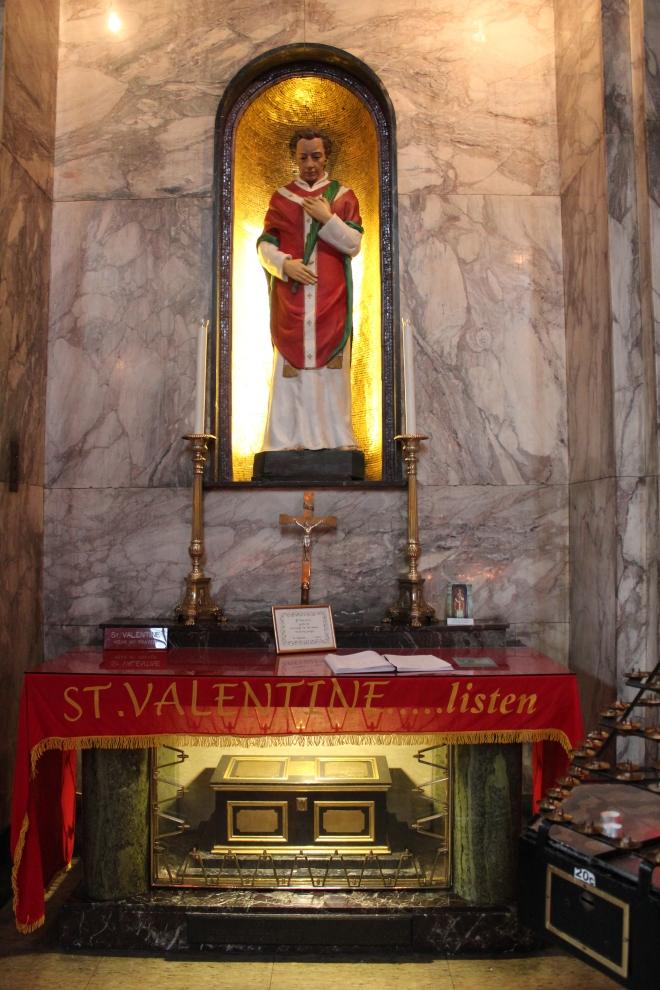 St. Valentine's Relics