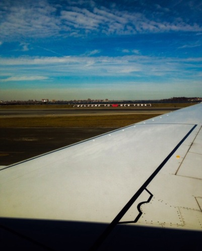 Flying From New York