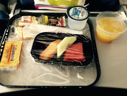 Hawaiian Airlines Breakfast