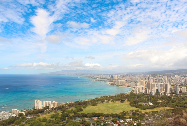 Diamond Head Crater View