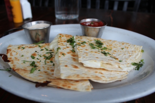 Cheese Quesadilla, Poquitos