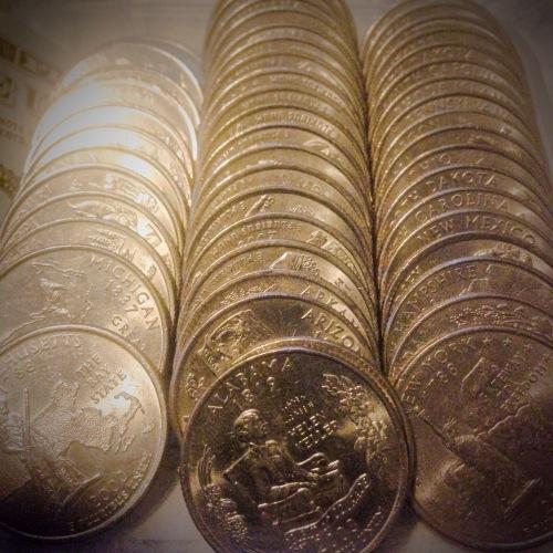 The 50 U.S. States Quarters