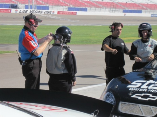 Suited Up For NASCAR, Las Vegas Speedway
