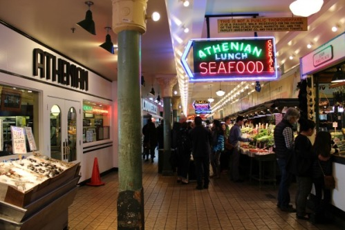 'Sleepless In Seattle' Pike Place Market