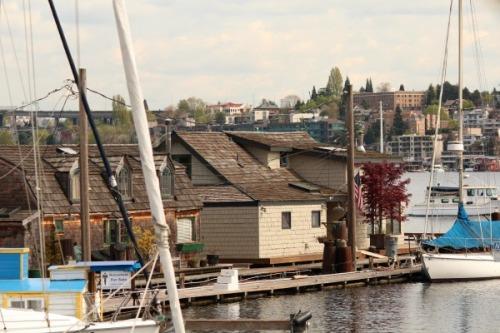 'Sleepless In Seattle' Houseboat