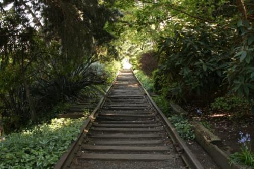 'Sleepless In Seattle' Train Track Park Near Houseboat