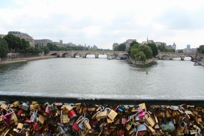 Pont Des Art Bridge