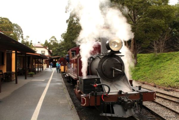 Puffing Billy At Belgrave
