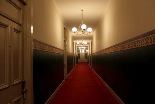 Hallways, Grand Hotel Melbourne